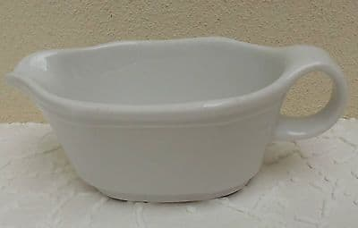 Schonwald white cream jug or sauce boat German porcelain replacement china 9384